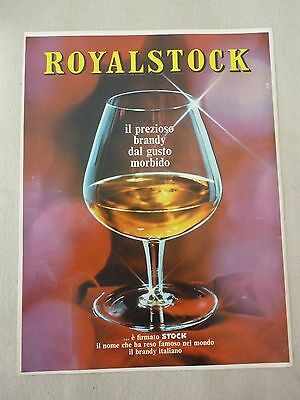 Advertising Pubblicita' Royalstock   -- 1969