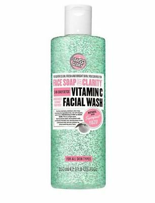 Soap & Glory Face Soap And Clarity Vitamin C Daily Detox Wash with Yuzu 350ml