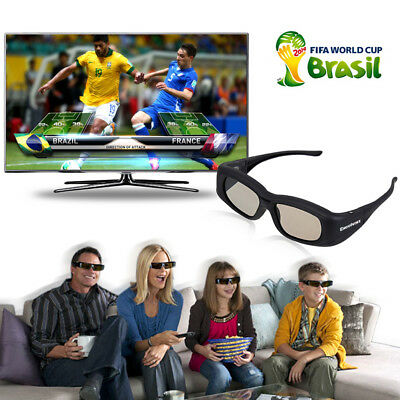 Bluetooth 3D TV Active Shutter Glasses For Sony/Panasonic/Toshiba/Samsung New