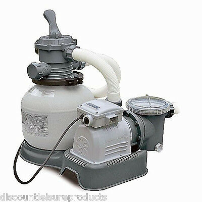 Intex Krystal Clear Swimming Pool Sand Filter & Pump 2800 GPH #28648