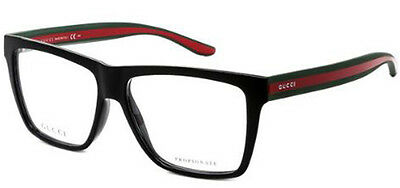 Gucci Optical Authentic Designer Men's Eyeglasses Made In Italy 1008 051N