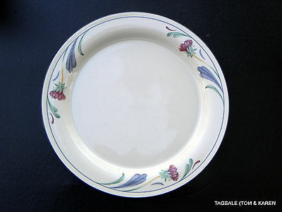 "Poppies on Blue by LENOX ~ 10 3/4"" Dinner Plate (S) , MICROWAVE"