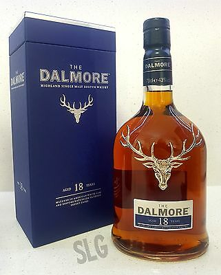The Dalmore 18 year old Single Malt Scotch Whisky.70cl - 43%alc. Limited Edition