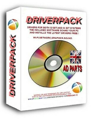 NEW HP COMPAQ DRIVERS RECOVERY DISC CD DVD FOR WINDOWS XP VISTA win 7 8 8.1 10