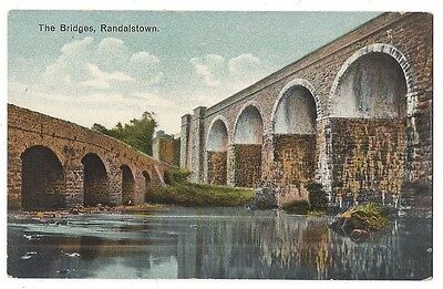 RANDALSTOWN The Bridges, Postcard by Booth and Miller, Unused