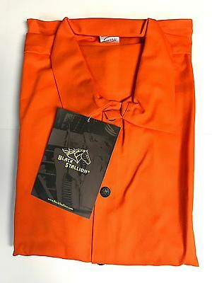 "Revco Black Stallion F09-30C 30"" 9oz Orange FR Welding Jacket (large)"