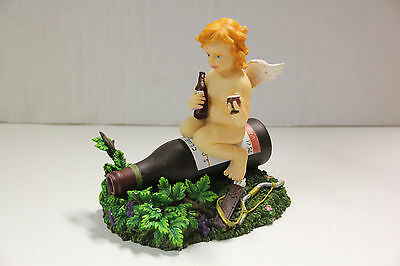 Aquarium bubbler ornament - Drinking Cherub
