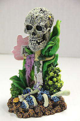 Aquarium bubbler ornament - Skull