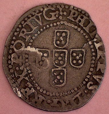 1621 - 1640, Half Tostao, Philip Iv Of Spain (Iii Of Portugal ). Rare !!!