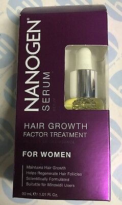 Nanogen Hair Growth Factor Treatment Serum for Women 30ml (1 months' supply)