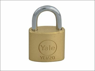 Yale security padlock Solid Brass 20mm/25mm/30mm/40mm/50mm/60mm