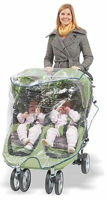 Rain Cover Double Jogger Comfy Baby