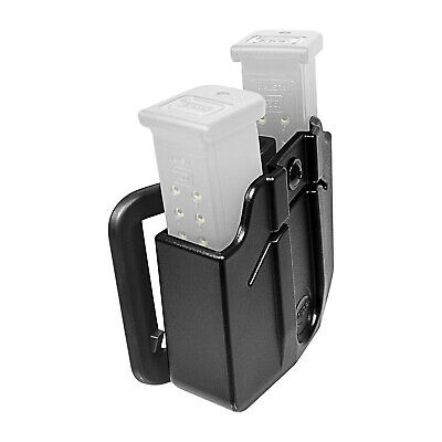 Orpaz Magazine Belt Holster Holds 2 Double Stack 9mm POLYMER Mags Adjustable for