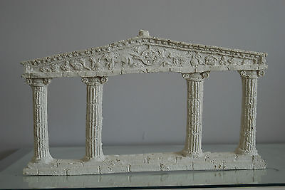 Aquarium Large Greek Temple Ruin Column Decoration 36 x 20 x 3 cms