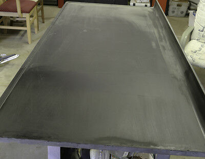 "Corrosion resistant heavy duty Slate bench top for lab cabinet 3"" backsplash"