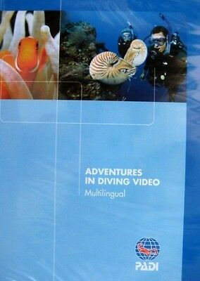 Padi Adventures In Diving Dvd Video Advanced - Product # 70832 - 2006