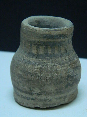 Ancient Indus Valley C.2500 BC Teracotta Painted Pot   ###P15325###