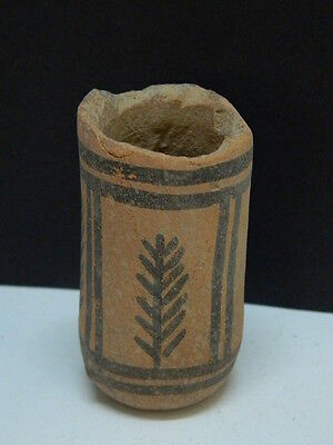 Ancient Indus Valley C.2500 BC Teracotta Painted Pot No Reserve ###P15304###