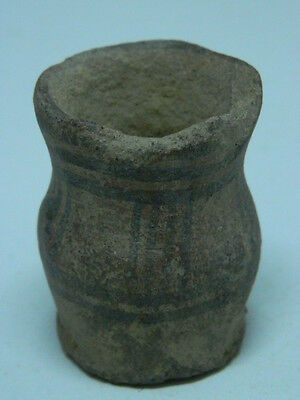 Ancient Indus Valley C.2500 BC Teracotta Painted Pot   ###P15352###
