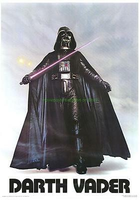 Star Wars Original 1977 Movie Poster Darth Vader