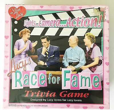 Lucy's Race for Fame Trivia Board Game. Vintage, Collectible  NIB  NEW!