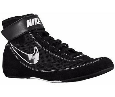 Nike Speedsweep V11 Wrestling Boots Black Boxing Shoes NEW