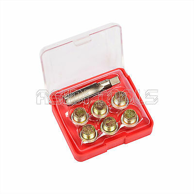 13mm Oil Pan Thread Repair Kit Set Sump Drain Plug Repair Kit Includes Washers