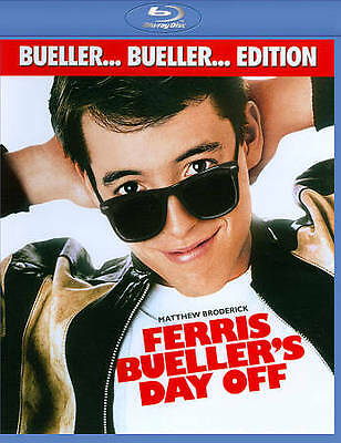 Ferris Buellers Day Off Blu Ray New! Bueller Bueller Edition! Matthew Broderick