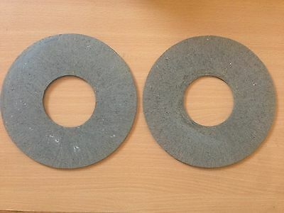 2 TRACTOR  PTO CLUTCH DISCS 165mm OD x 63mm ID