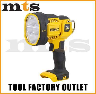 Dewalt Dcl043 Cordless 18V / 20V Max Jobsite Led Spotlight Torch Lantern