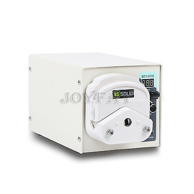 Peristaltic Pump 1.7 - 435 ml/min per Channel 1 Channel 1-150 rpm U.S. Solid®