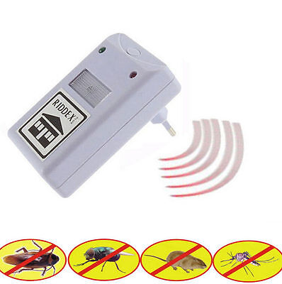HOT Electronic Pest Repelling Aid EU Plug/US Plug Spiders Dispeller Mosquito