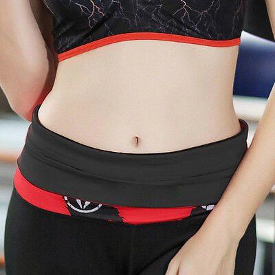 Multi Size Flipbelt Waistband Sport Jogging Gym Belts Bag Pouch for Phone Cash