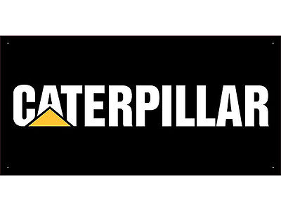 Advertising Display Banner for CAT CATERPILLAR Sales Service Parts