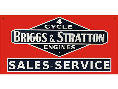 Advertising Display Banner for Briggs & Stratton Engine Sales Service Parts