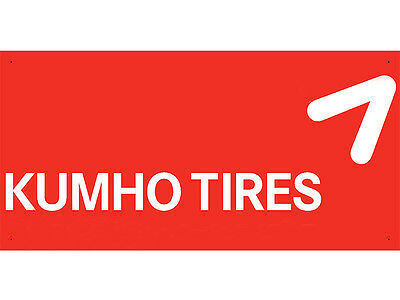 Advertising Display Banner for Kumho Tires Sales Service Parts
