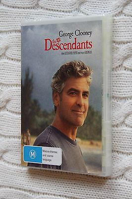 The Descendants (DVD), LIKE NEW, REGION-4, FREE SHIPPING WITHIN AUSTRALIA