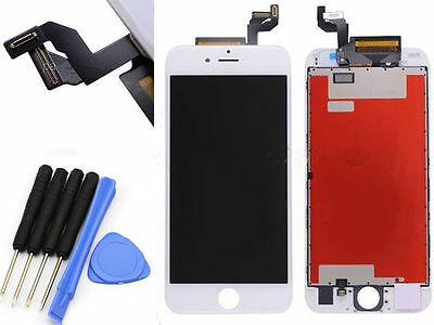 iPhone 6S Replacement 3D Touch Screen LCD Digitizer Display Assembly White Tools
