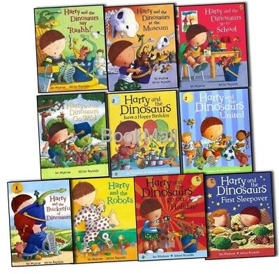 Harry and the Dinosaurs 10 Book Set Collection - Ian Whybrow - RRP: £69.90