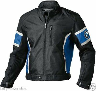 BMW Motorbike Leather Jacket Racing Motorcycle Cowhide Biker Protection ALL-SIZE