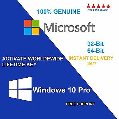 Barebone/Scrap PC with Genuine Windows 10 Pro 32/64 bit COA Product Key