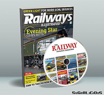 Railway Magazine PDF Collection On DVD inc Steam Railway Hornby Backtrack