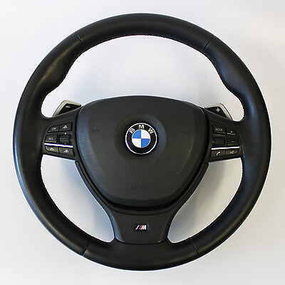 BMW M Sport Steering Wheel with Airbag Paddle 5 6 7 F01 F07 F10 F12 F11 Series