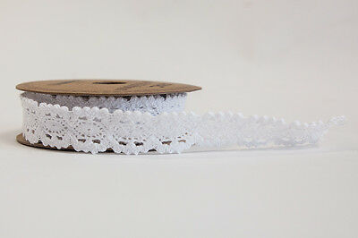 Apac White Lace Ribbon18Mm X 3Yds Wrapping Crafts Wedding Stationary Decor
