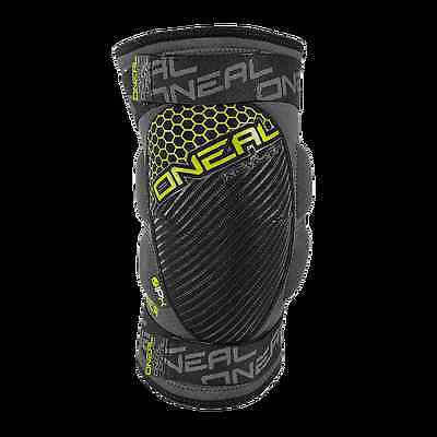 GINOCCHIERA MTB ENDURO DOWNHILL ONEAL SINNER Kevlar Knee Guard gray/neon
