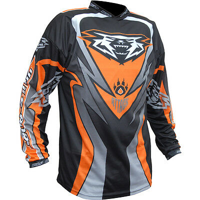 Wulfsport Attack Jersey Off Road Motocross Enduro Bike Adult Top New 2017 Orange