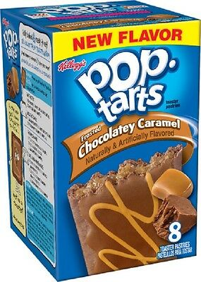 Pop Tarts Frosted Chocolatey Caramel 400g