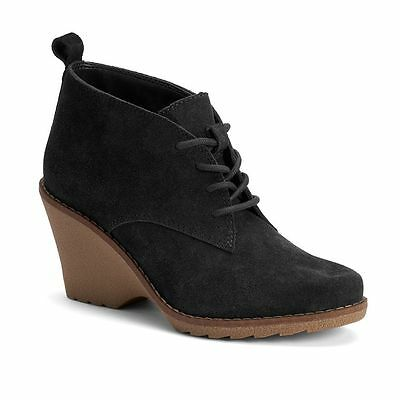 5fa82b384 NWT Women's SONOMA Goods for Life Suede Ankle Boots Choose Size Black