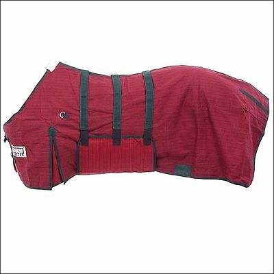 78 in TOUGH-1 MED WEIGHT STORM-BUSTER BELLY WRAP WEST COAST WINTER HORSE BLANKET
