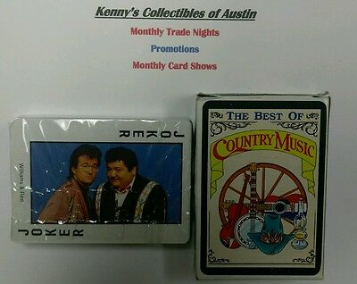 The Best of Country Music Playing Cards